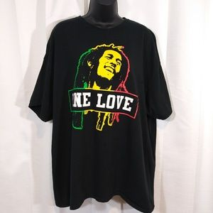 Zion Rootswear One Love graphic tee. 2xl